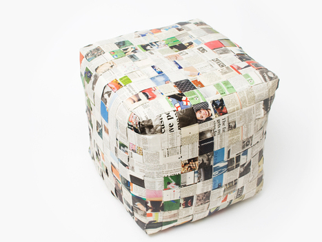 recycled newspaper + sock furniture by jay watson | Furniture & Interior Design | Scoop.it