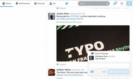 Twitter Launches Pop-Up Notifications On The Web | Digital-News on Scoop.it today | Scoop.it