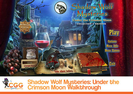 Shadow Wolf Mysteries: Under the Crimson Moon Walkthrough: From CasualGameGuides.com | Casual Game Walkthroughs | Scoop.it