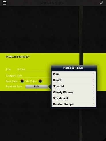 Moleskine's Newest Writing And Artist Journal For The iPad ... | Journal For You! | Scoop.it