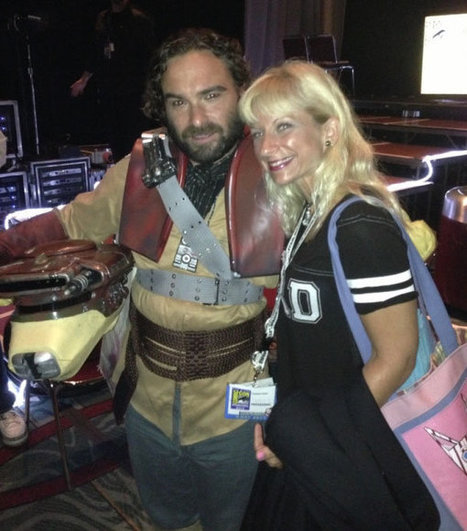 Ultimate Bazinga! Johnny Galecki Hijacks 'Big Bang Theory' Panel at Comic-Con | Geek Topics | Scoop.it