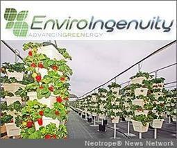 EnviroIngenuity and Garden Supply Inc partnership to promote hydroponic vertical farming systems | CitizenWire | Vertical Farm - Food Factory | Scoop.it
