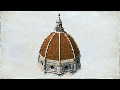 La construcción de la cúpula de Santa Maria dei Fiori (Florencia) | Las huellas del Arte | Scoop.it
