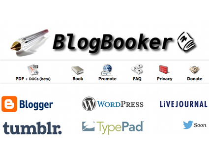 BlogBooker, transformer un blog en livre ! | Moodle and Web 2.0 | Scoop.it