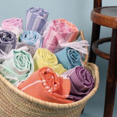 Tweet from @cottonandolive   Turkish Peshtemal Towels   Scoop.it