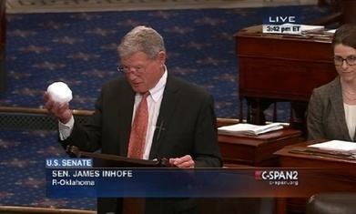 Republican Senate environment chief uses snowball as prop in climate rant   GarryRogers Biosphere News   Scoop.it