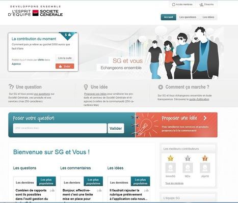 Banques et réseaux sociaux : CRM 2.0 et communication grand public | Banque CRM | Scoop.it