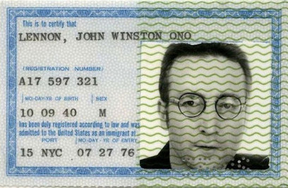 Pictorial collection of passports of famous people - Lost At E Minor: For creative people | A Piece of…ART | Scoop.it