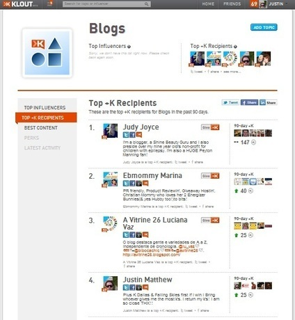 Social Media Tips: Want to be the top Influencer on KLOUT? | Surviving Social Chaos | Scoop.it