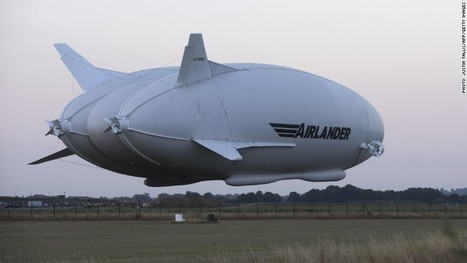 Airlander 10: World's largest aircraft completes its first flight | Safety sneakers, safety shoes, workwear, safety, news and other stuff | Scoop.it