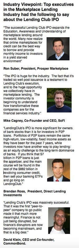 Lending Club IPO: A Watershed Moment for Peer to Peer Lending | | SME Funding | Scoop.it