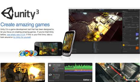 UNITY: Game Development Tool   Digital Delights - Avatars, Virtual Worlds, Gamification   Scoop.it