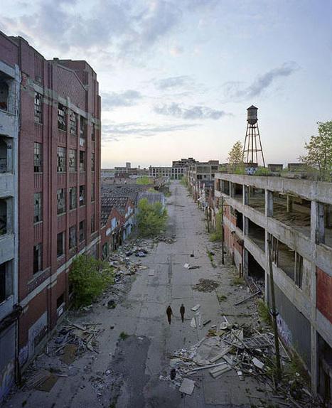 Photographies des ruines de Détroit   Le recours aux forêts   Scoop.it