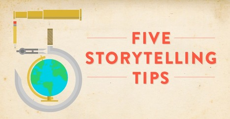 5 Tips for Better Storytelling: A Jeff Gomez Recap by Ian Klein | Edumathingy | Scoop.it