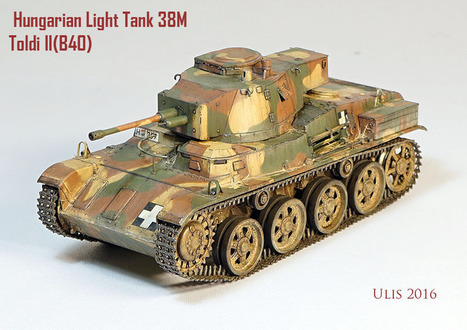 Toldi II (B40) | Military Miniatures H.Q. | Scoop.it