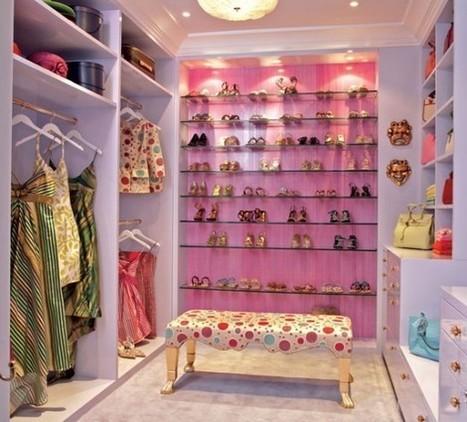 Quelques idées de dressing pour vous mesdames decodesign / Décoration | Decoration Mydesign | Scoop.it