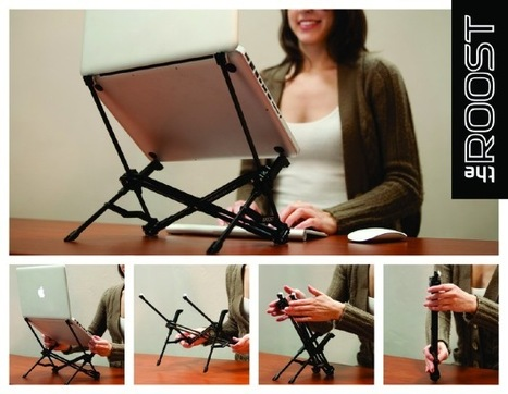 The Roost laptop stand combines hunch-beating height wth ultra-portable design | Best Website Collection | Scoop.it
