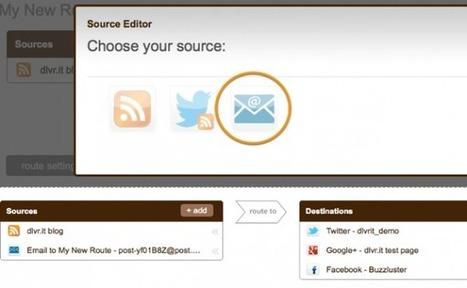 Envía contenido desde el email a tus redes sociales | El rincón de mferna | Scoop.it