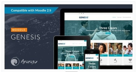 Genesis – Responsive Moodle Theme For Moodle 2.9 | elearning stuff | Scoop.it