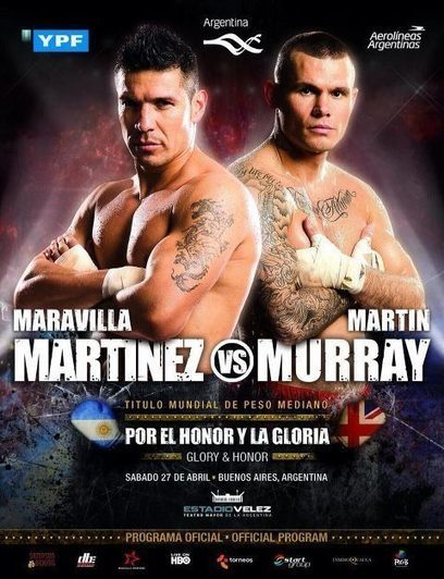 Official Promo: Martinez vs Murray Live | Exclusive PPV Boxing | Spot News@ Argentina On Direc.TV - 27Th,Apr! | Sports 247 Live | Scoop.it