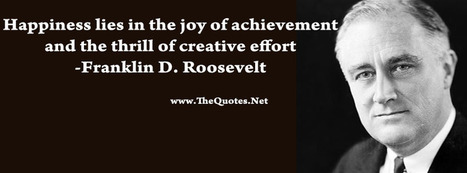 Franklin D. Roosevelt Quotes | TheQuotes.Net - Motivational Quotes | Quotes | Scoop.it