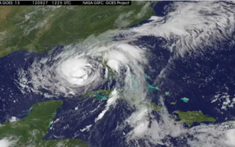 Tropical Storm Isaac as Seen From NASA Satellite   Prozac Moments   Scoop.it