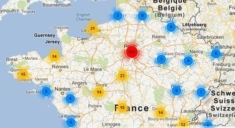 Ivres de Livres lance sa cartographie littéraire collaborative | Le BONHEUR comme indice d'épanouissement social et économique. | Scoop.it