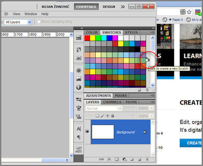 Adobe Photoshop Secrets: How to pick colors from Web page directly from Photoshop and Illustrator | Adobe Lightroom & Photoshop | Scoop.it