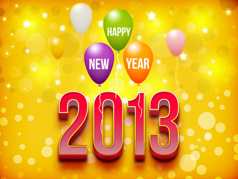 GraphicsFuel.com | Happy New Year 2013 (PSD) | photoshop ressources | Scoop.it