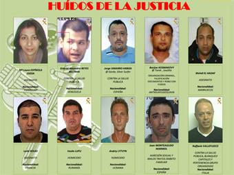 Caen cinco de los diez delincuentes más buscados por España | Mundo Criminal | Scoop.it
