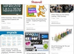 20 Pinterest Boards For Education Technology Enthusiasts - EdTechReview   Technology in Education: Resources for Teachers   Scoop.it