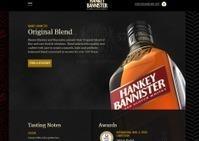 Scotch whisky brand Hankey Bannister uncorks new responsive website from ... | A Drunk Designer | Scoop.it
