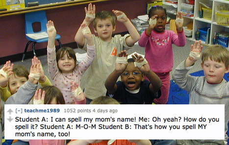 13 Of The Funniest Things Kids Have Said To Their Teachers | Educational toys | Scoop.it