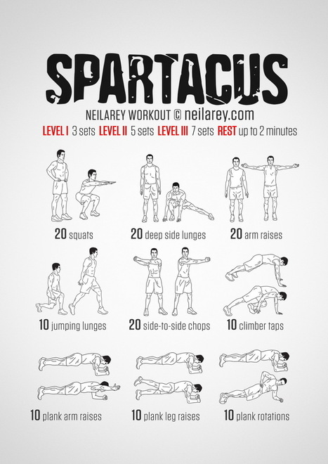 Breathtaking image within spartacus workout printable