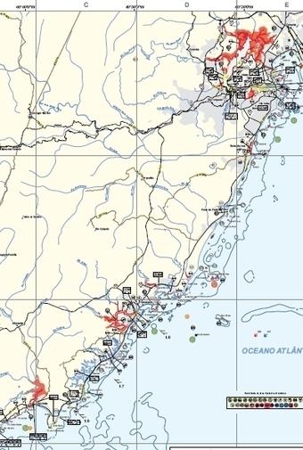 Mapeamento do litoral brasileiro enfrenta e previne desastre ambiental | Geoprocessing | Scoop.it