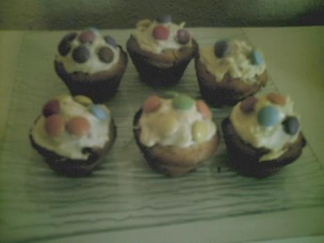 Muffins aux smarties | Mynspiration cuisine | Scoop.it