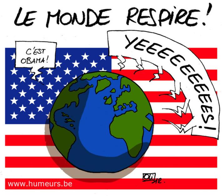 Obama réélu ! | Baie d'humour | Scoop.it
