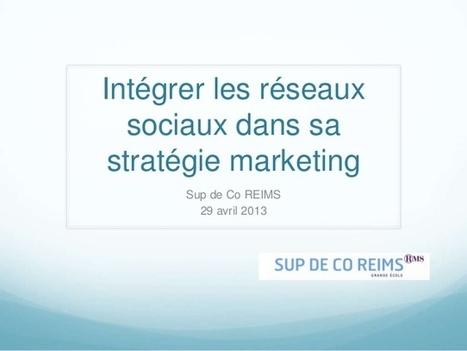Intégrer les Réseaux Sociaux dans sa Stratégie Marketing | Community management formation | Scoop.it