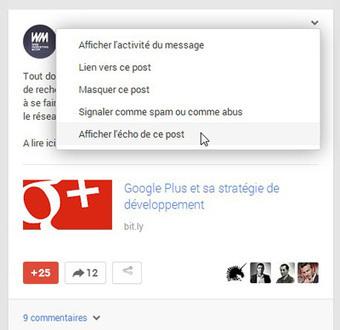 Suivez la viralité de vos posts Google + grâce à Écho | Personal Branding and Professional networks - @TOOLS_BOX_INC @TOOLS_BOX_EUR @TOOLS_BOX_DEV @TOOLS_BOX_FR @TOOLS_BOX_FR @P_TREBAUL @Best_OfTweets | Scoop.it