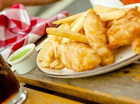 """New York Habitat on Twitter: """"Craving some fish and chips for lunch today in #NYC? Stop in to @asaltandbattery http://t.co/pWatQfhebZ""""   CLOVER ENTERPRISES ''THE ENTERTAINMENT OF CHOICE''   Scoop.it"""