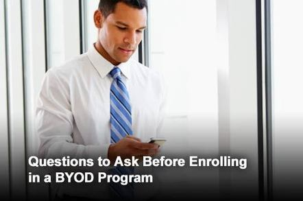 Six BYOD Questions Users Should Ask IT | NIC: Network, Information, and Computer | Scoop.it