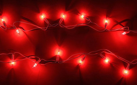 Christmas fairy lights can slow your broadband speed | Quite Interesting News | Scoop.it