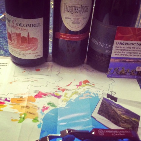 Cooking Chat: #LanguedocDay Wine Tasting Notes and Food Pairings | Wine Tasting Scorecard | Scoop.it