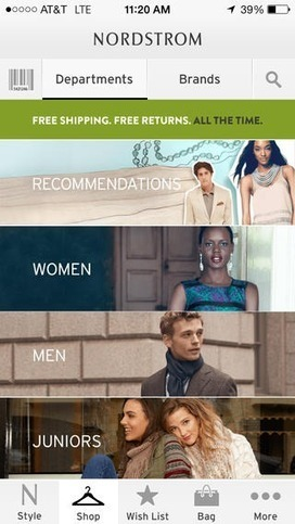 A list of 10 retail mobile apps that customers love | Retail Environment | Scoop.it