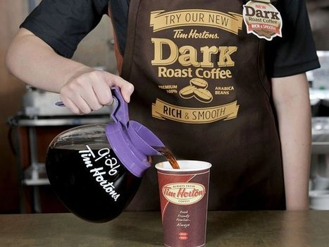Tim Hortons to offer new dark roast coffee blend in two test markets   Curating Mode !   Scoop.it