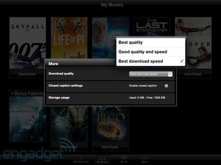 Vudu Player update allows movie downloads on iPhone, iPad - Engadget - Engadget | Machinimania | Scoop.it