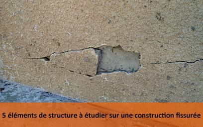 5 éléments de structure à étudier sur une construction fissurée | Expertise bâtiment | Scoop.it