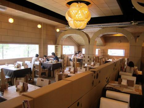 Restaurante de cartón | RedRestauranteros: Las Curiosidades | Scoop.it