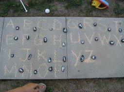 Making LetterStones | Dansk i skolen | Scoop.it