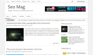 Seo Mag Blogger Template ~ New Blog Themes   Professional Blog Themes For Your Blog   New Blog Themes   Scoop.it